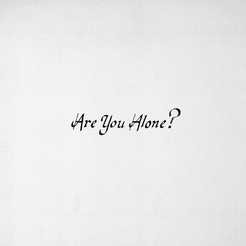 Majical-Cloudz_Are-You-Alone_cover