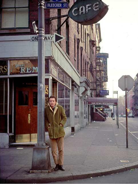 פרד ניל על פינת בליקר ומק'דוגל, שנת 1965